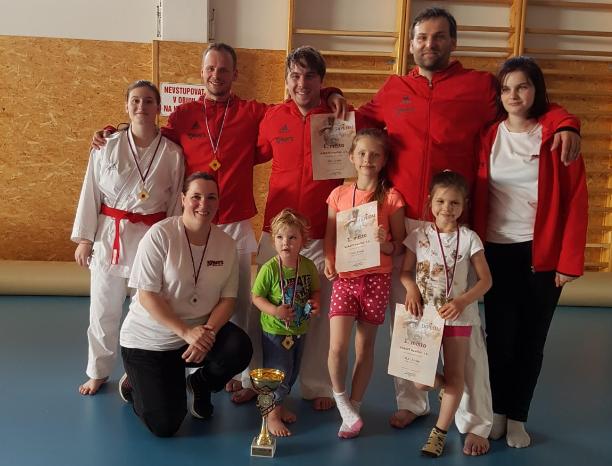 2. kolo Národního poháru dorostu, juniorů, U21 a seniorů 2. kolo České ligy karate kumite tým_1.6.2019