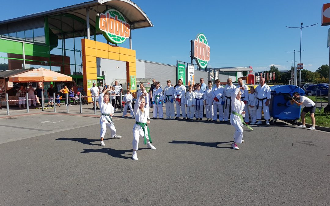 Vystoupení na oslavě výročí Globusu v Havířově