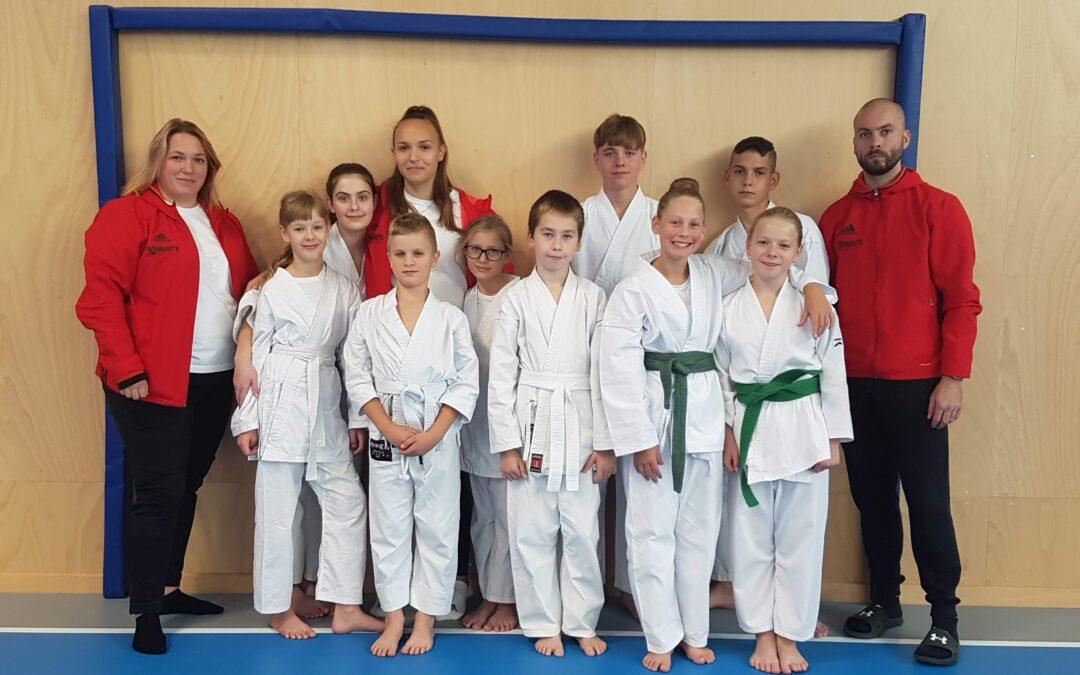 Výsledky krajského přeboru karate MSKe 2021 – 2.10.2021, Havířov